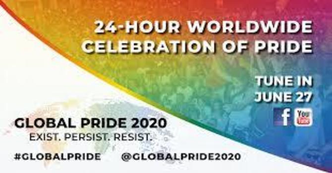 Global Pride - Saturday, June 27th, 2020 image