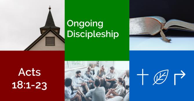 Ongoing Discipleship