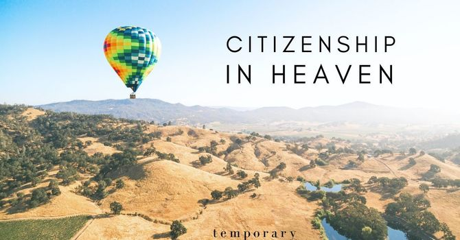 Citizenship in Heaven