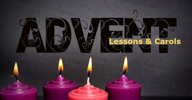 Advent Lessons & Carol Service