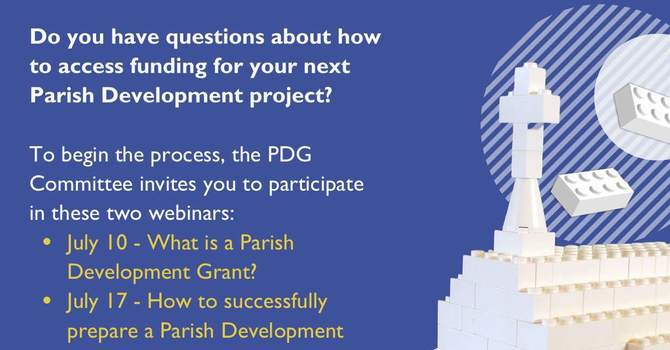 Parish Development Grant Webinars