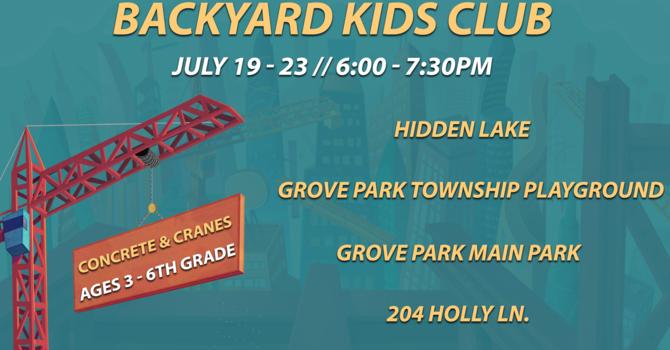 Backyard Kids Club 2020