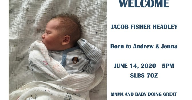 Jenna and Andrew welcome baby Jacob! image