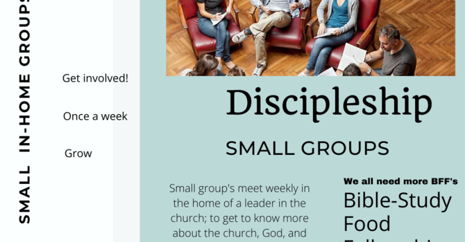 In-home Discipleship Groups