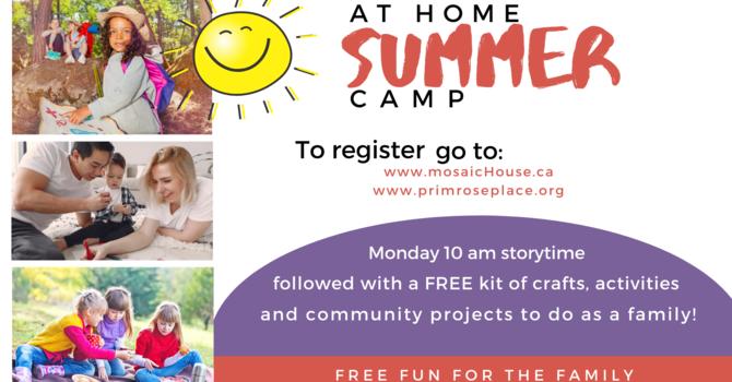 At-Home Summer Camp