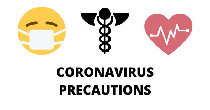 Coronavirus Precautions image