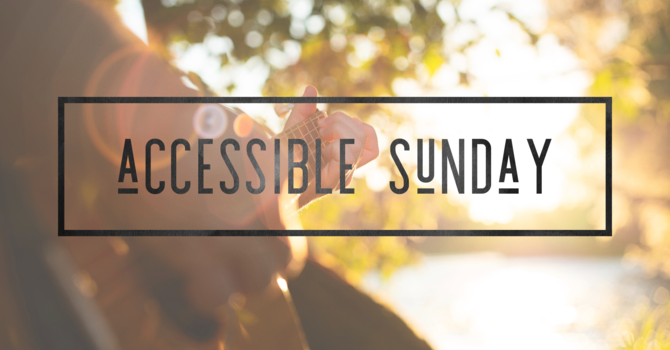 Accessible Sunday Survey image