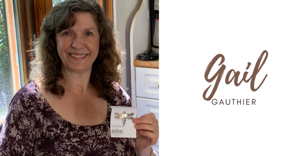Gail Gauthier awarded bishop's pin