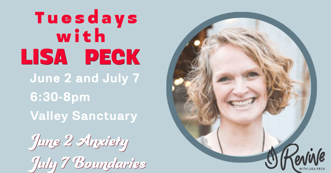 Tuesdays with Lisa Peck