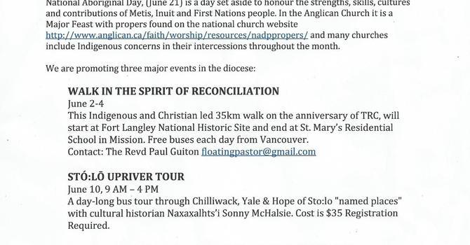 Honouring Aboriginal Day image