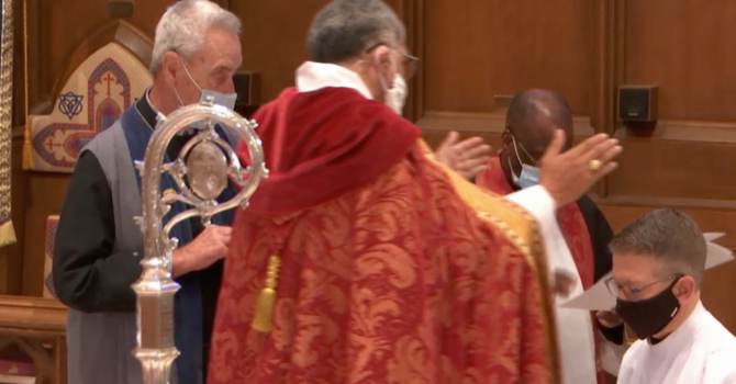 Watch the Ordination to the Priesthood of the Rev'd Colin Brown