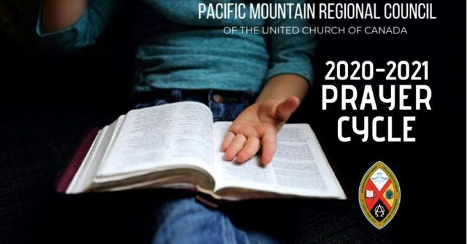 The 2020-2021 Prayer Cycle for The Pacific Mountain Region Council
