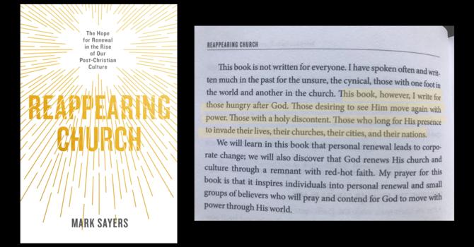 Summer Seeking: Reappearing Church