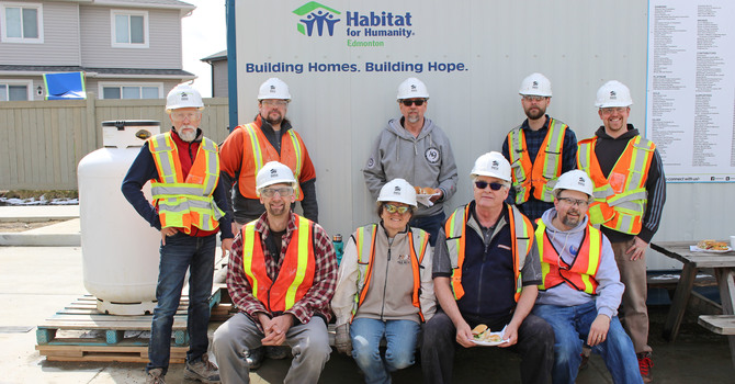 Faith Leaders at Work with Habitat for Humanity image