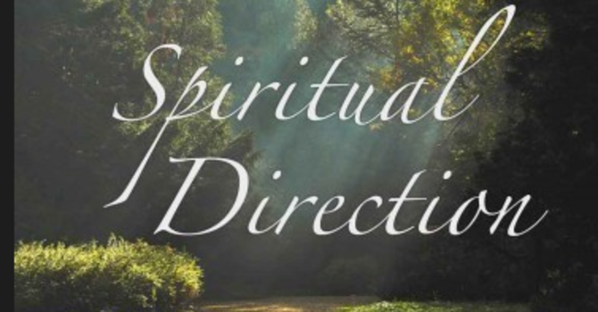 Are you offering Spiritual Direction? image
