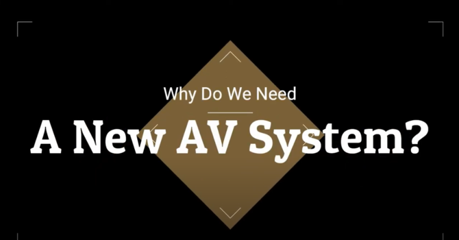 Why We Need a New A/V System image