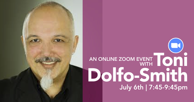 """An """"Online"""" Evening with Toni Dolfo-Smith"""