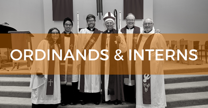 Ordinands & Interns