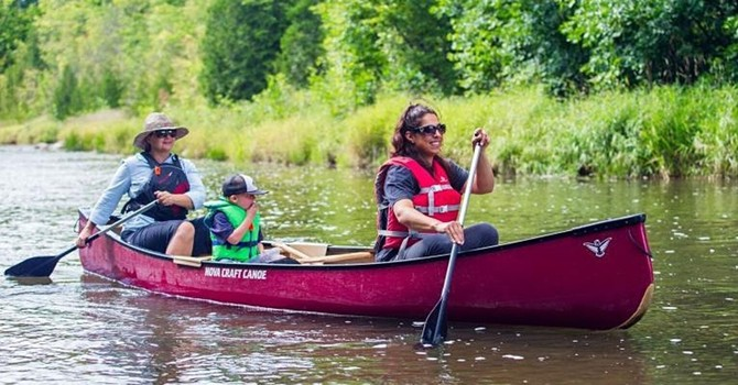 North Sask River Paddle Day