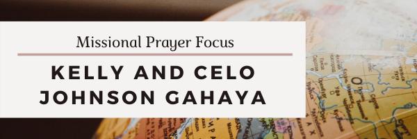 Missional Prayer Focus · July 5