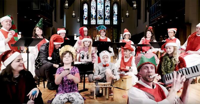 """CCC Choir and Friends Sing """"O Tannenbaum"""" image"""