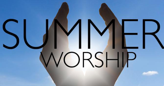 Summer Worship 2020 image