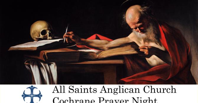 Cochrane Prayer Night July 8