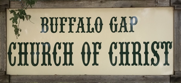 Buffalo Gap Church of Christ