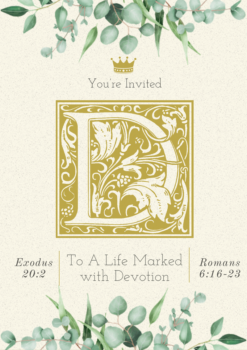 You're Invited to Devotion