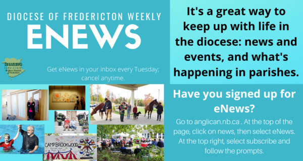 How to sign up for eNews