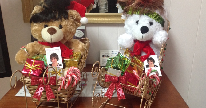 Christmas Wigged Out Teddies for Lions Gate Chemo Ward image