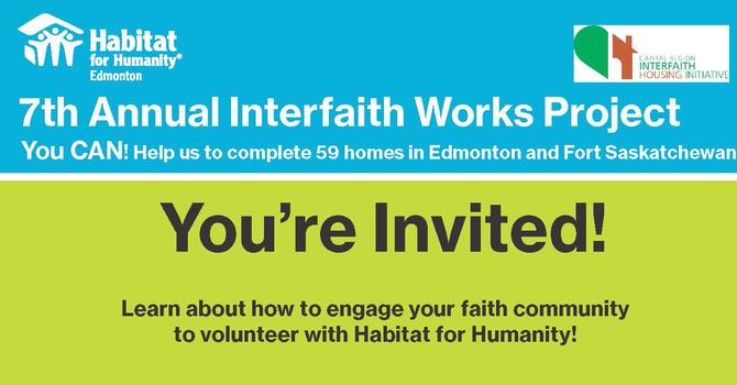 Habitat-Interfaith Works Project Info Nights