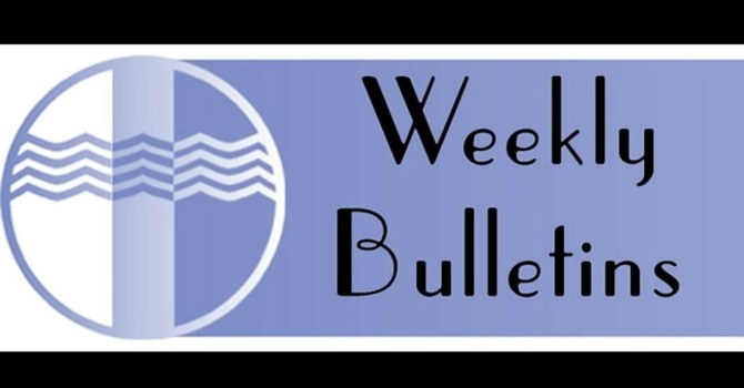 Weekly Bulletin | January 31, 2016 image
