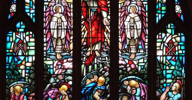 The Story Behind ~ The Chancel Window image