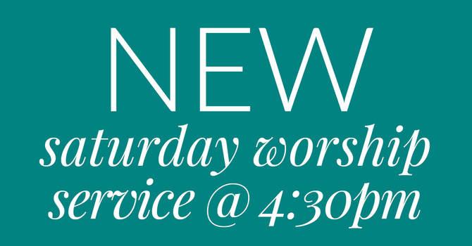 NEW Saturday Worship Service image