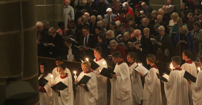 Christ Church Cathedral Choir Launches New Christmas CD image