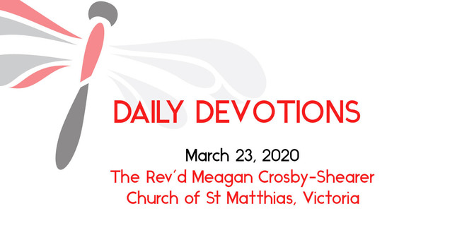 Daily Devotion  March 23