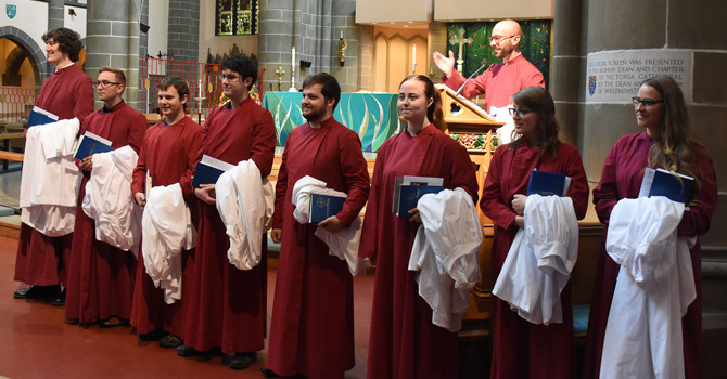 Choral Scholars presented image