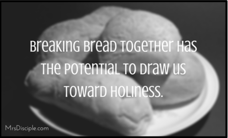 Spiritual Resilience via Breaking Bread Together