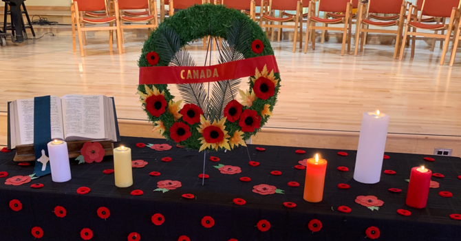 REMEMBRANCE DAY REFLECTIONS
