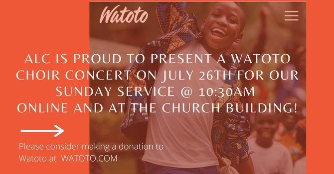 WATOTO Children's Choir Online Concert