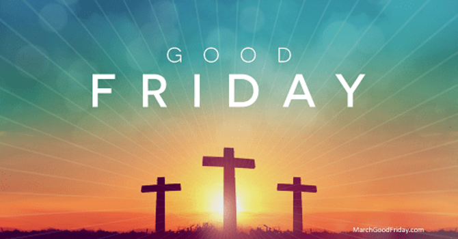 Joint Good Friday Service image