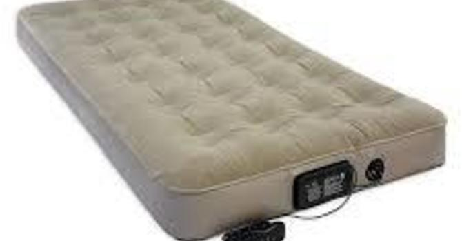 NEEDED - Twin Blow up Mattress image