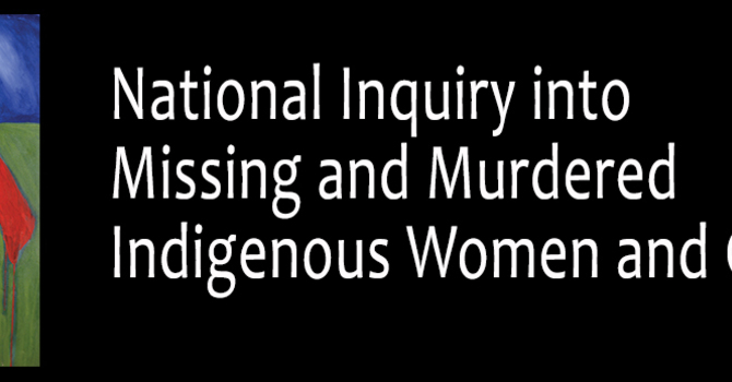 Bishop's Statement Re: National Inquiry into Murdered and Missing Indigenous Women and Girls image