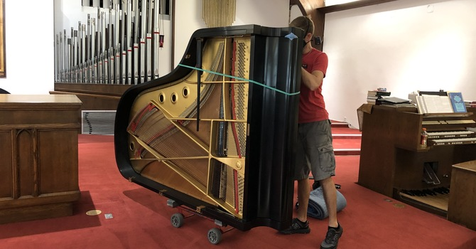 New Piano for Sanctuary image