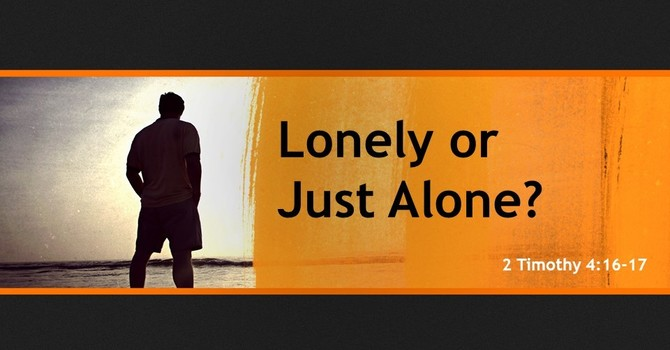 Lonely or Just Alone? image