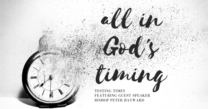 All in God's Timing i