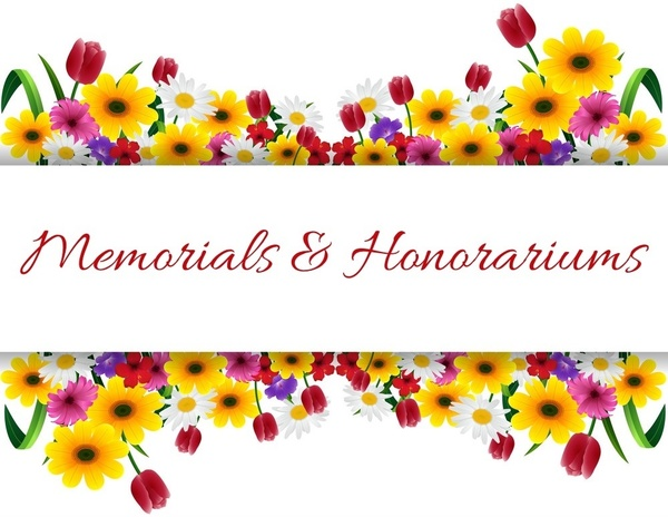 Memorials & Honorariums