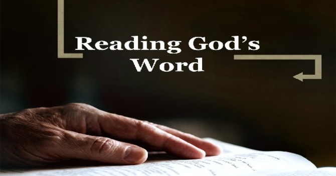 Reading the Bible by Faith in God's Promises
