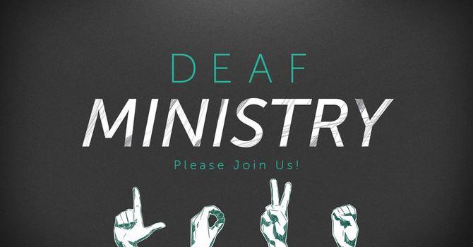 Deaf Ministry